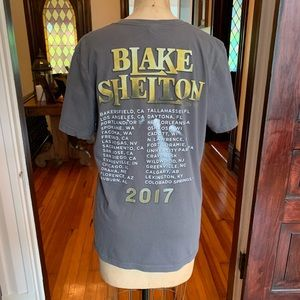 Blake Shelton Concert Tour T-shirt Medium EUC